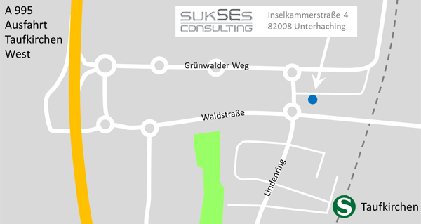 Map sukSEs Consulting GmbH in Unterhaching near munich